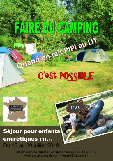 Faire du camping 20192